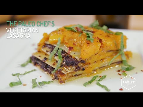 RECIPE: The Paleo Chef's Vegetarian Lasagna with a Secret Ingredient!