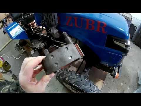 Тормоза :-) (заміна гальмівних  колодок)/replacement of brake pads.