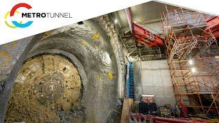 TBMs Millie and Meg break through on the Metro Tunnel