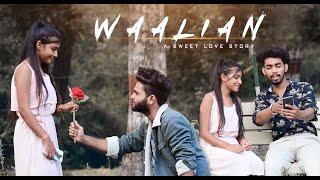 Waalian | Harnoor | Sweet Love Story | New Panjabi Song 2020 | A Studio