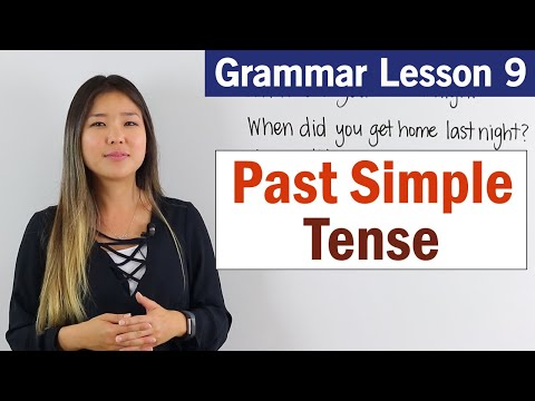 Learn Past Simple Tense English Grammar Course