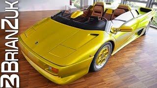 Lamborghini Diablo Roadster Prototype