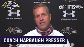 John Harbaugh Talks Roster At Start Of Camp   Baltimore Ravens