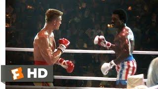 Rocky IV (3/12) Movie CLIP - Apollo's Bloody First Round (1985) HD