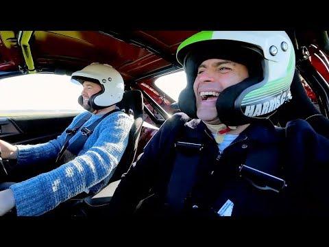 Chris Harris and Jason Manford Lap | Top Gear: Series 25