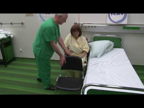 Transfer: Rollstuhl/Toilettenstuhl - Bett