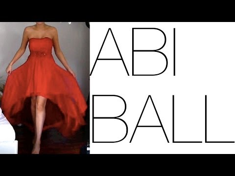 MEIN ABIBALL - Make-Up, Frisur, Kleid