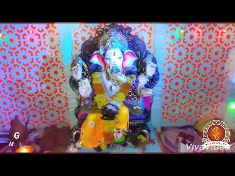 Ganesh Kadam Home Ganpati Decoration Video