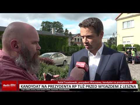 Wideo1: Jarek Adamek rozmawia z Rafałem Trzaskowskim, kandydatem na prezydenta RP