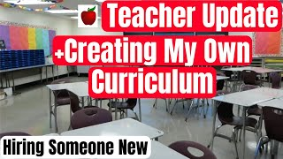 Teacher Classroom Update and Creating My Own Curriculum High School Teacher Vlog