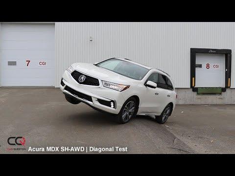 SH-AWD Diagonal TEST: Acura MDX | Can it climb?