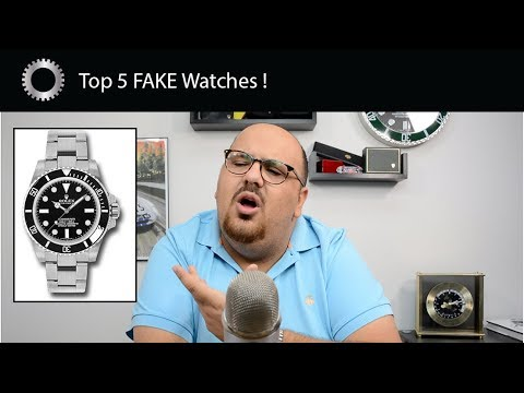 Top 5 Best Fake Watches – Rolex, Hublot, Panerai and MORE !
