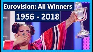 Eurovision All Winners (1956 - 2018)