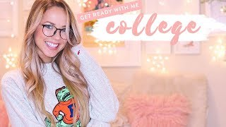GET READY WITH ME FOR COLLEGE CLASSES ✨