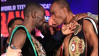Crawford vs Indongo INTENSE FACE-OFF!