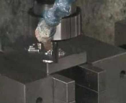 Frezowanie stali 15H 100mm/s