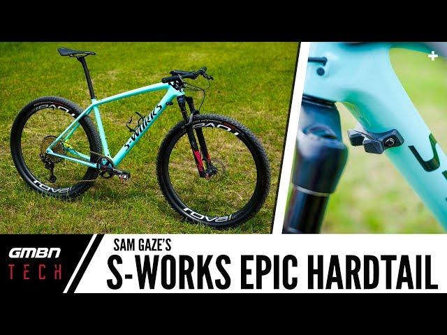 608c6c9deee Sam Gaze's S-Works Epic Hardtail | GMBN Tech Pro Bikes | GMBN
