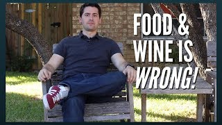 """Food and Wine is Wrong! """"Explore"""" wine for less than half the cost."""