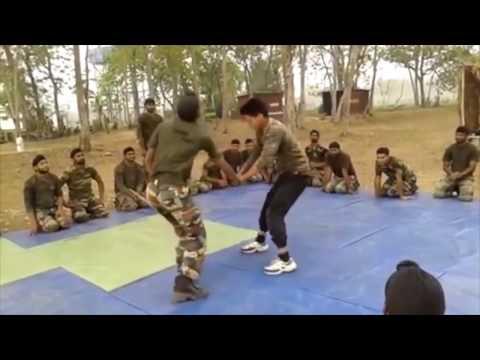 Commando's self defence training (Must watch)