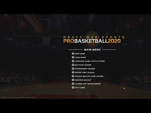 Draft Day Sports: Pro Basketball 2020 - First Look!!! thumbnail