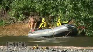 Swift Water Rescue Of 10 Year Old Boy from Carbon River Orting WA