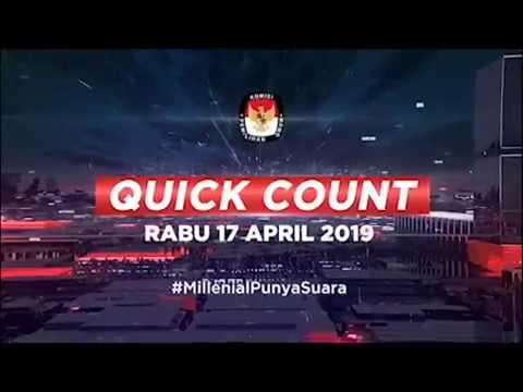 Millenial Punya Suara: Quick Count Pemilu 2019