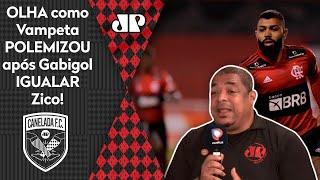 Vampeta polemiza Gabigol, que igualou recorde de Zico na Libertadores