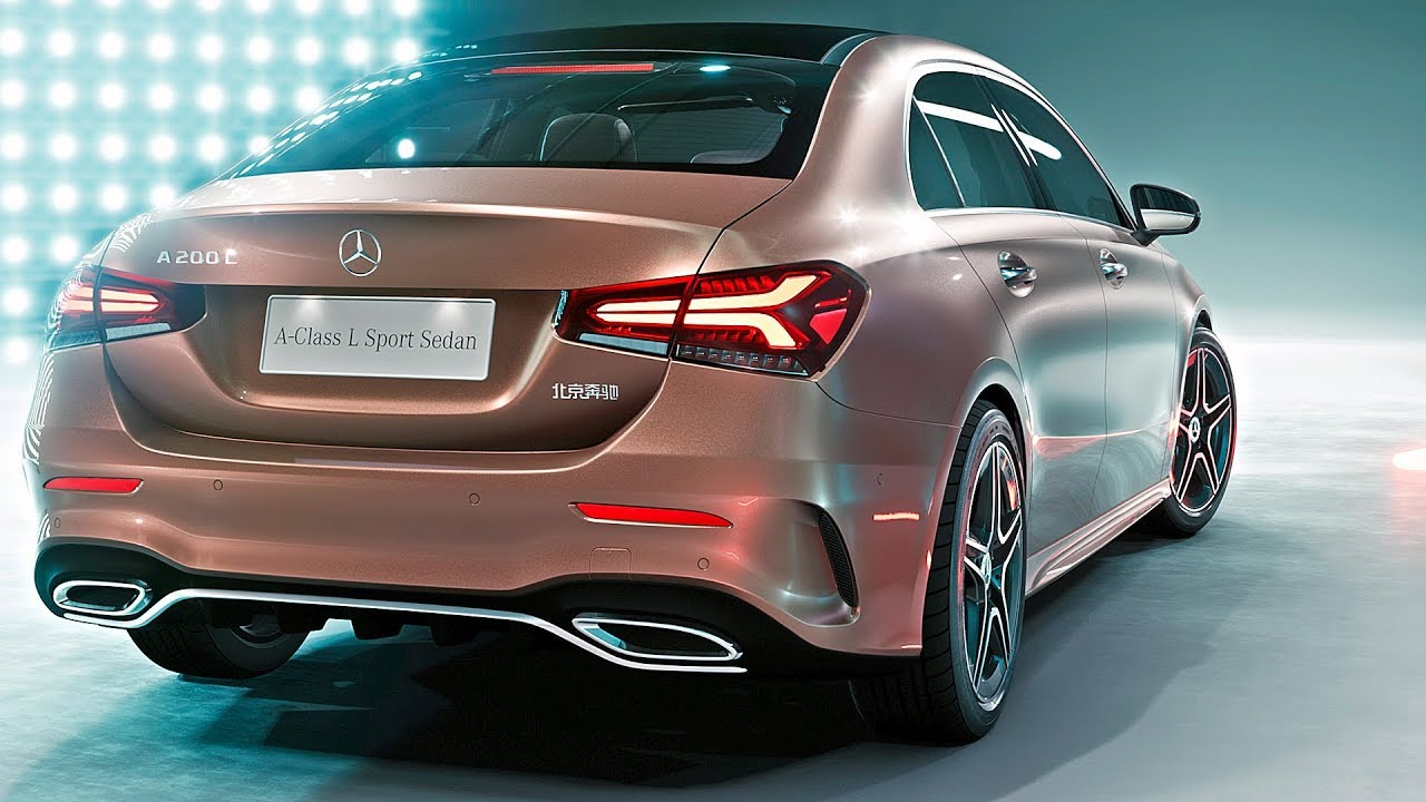 news mercedes a class sedan 2019 world premiere. Black Bedroom Furniture Sets. Home Design Ideas