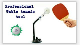 Professional ball training tool. Table tennis coaching