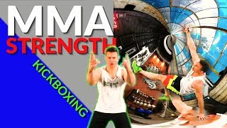 MMA Muscle, Kickboxing, Dumbbell Workout by Relentless Jake Fitness