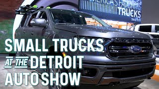 Which Small Truck Is Best? Comparing The Top 2020 Models At The Detroit Auto Show