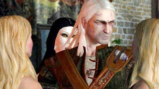 """THE WITCHER - """"Blue Eyes"""" quest (House of the Night) (all choices)"""