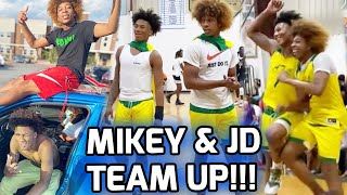 Mikey Williams & JD Davison TEAM UP In Atlanta! Goes Down Double Digits But COME BACK LATE 🔥