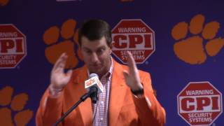 TigerNet.com - Dabo Swinney talks National Signing Day 2