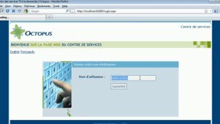 Personnalisation des formulaires Web (logiciel ITSM Octopus)