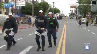 Desfile cívico de Aracaju acontece na avenida Barão de Maruim - BALANÇO GERAL MANHÃ