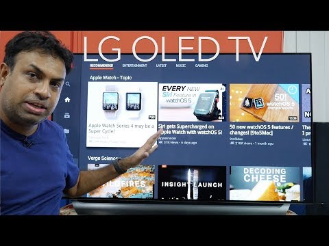 LG OLED TV C8 55″ 4K TV (2018 Model) Amazing Picture Quality
