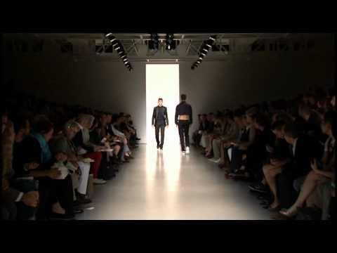 Calvin Klein Collection Men's Spring 2011 Runway Show - презентация одежды Calvin Klein