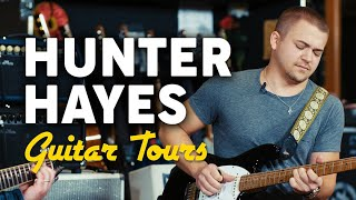 Hunter Hayes Unveils His Signature Guitar | Marty's Guitar Tours