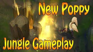 NEW POPPY - Jungle Gameplay - Nach wie vor Late Game Champion