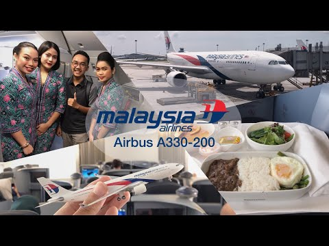 Malaysia Airlines A330-200 Business Class Review | MH721 KUL-CGK