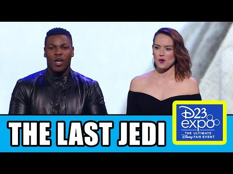 Star Wars The Last Jedi Panel + D23 Behind The Scenes Trailer | MTW