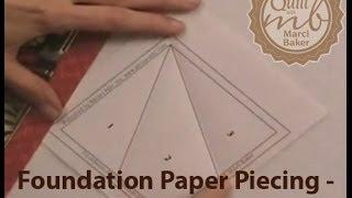 Foundation Paper Piecing - A Few Basics