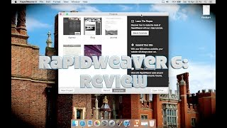 RapidWeaver 6 (web design software for Mac): Review