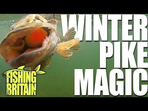 Fishing Britain – Winter Pike Methods