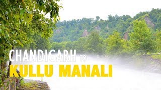 Road to Manali   Chandigarh to Manali by Road   Road Trip Video
