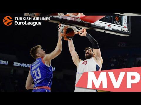 Round 2 MVP: Tornike Shengelia, CSKA Moscow