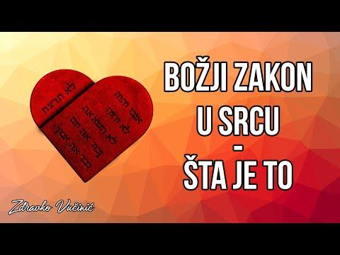 Zdravko Vučinić: Božji zakon u srcu – šta je to