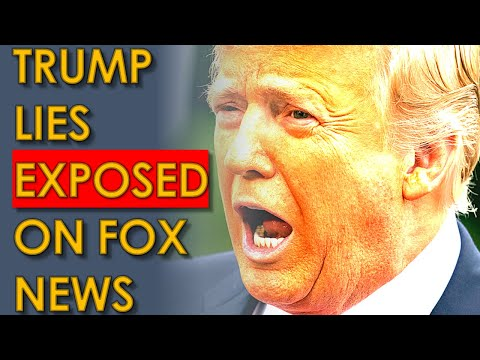 Trump Lies EXPOSED Live on Fox News Chris Wallace Interview