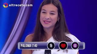 Paloma cantó junto a Joaquín de los Pimpinela